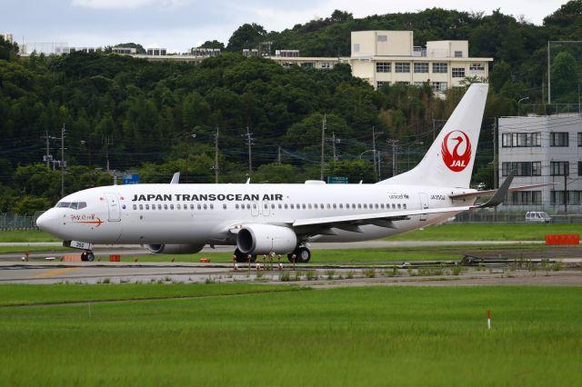 Yusuke✈︎さんが、福岡空港で撮影した日本トランスオーシャン航空 737-846の航空フォト(飛行機 写真・画像)