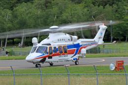 Nao0407さんが、松本空港で撮影した三井物産エアロスペース AW139の航空フォト(飛行機 写真・画像)