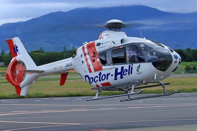 Nao0407さんが、松本空港で撮影した中日本航空 EC135P2+の航空フォト(飛行機 写真・画像)