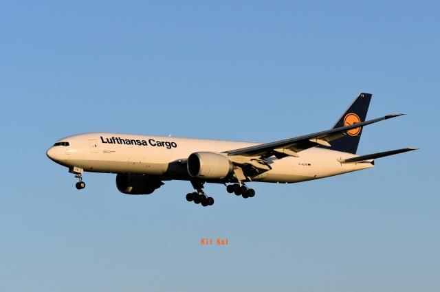 キットカットさんが、成田国際空港で撮影したルフトハンザ・カーゴ 777-FBTの航空フォト(飛行機 写真・画像)