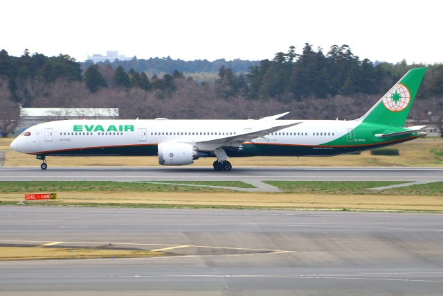 Tomo_mczさんが、成田国際空港で撮影したエバー航空 787-10の航空フォト(飛行機 写真・画像)