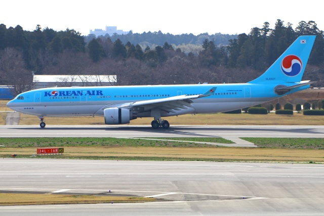 Tomo_mczさんが、成田国際空港で撮影した大韓航空 A330-223の航空フォト(飛行機 写真・画像)