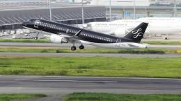 mich_stoneさんが、羽田空港で撮影したスターフライヤー A320-214の航空フォト(飛行機 写真・画像)