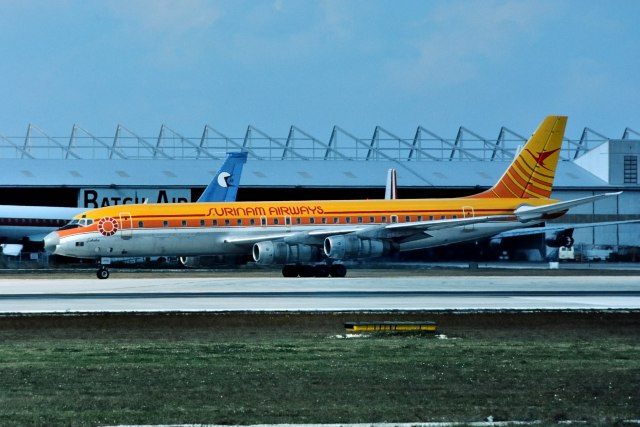 パール大山さんが、マイアミ国際空港で撮影したスリナム・エアウェイズ DC-8-55CF Jet Traderの航空フォト(飛行機 写真・画像)