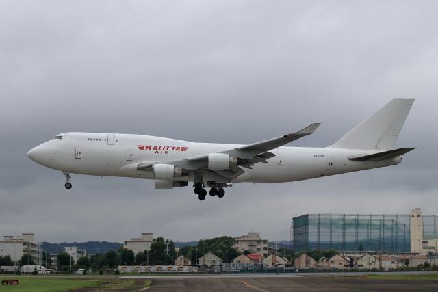 Shin-chaさんが、横田基地で撮影したカリッタ エア 747-4B5(BCF)の航空フォト(飛行機 写真・画像)