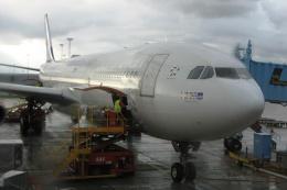 Hiro-hiroさんが、コペンハーゲン国際空港で撮影したスカンジナビア航空 A340-313Xの航空フォト(飛行機 写真・画像)