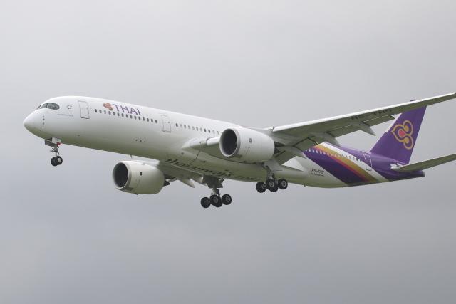 walker2000さんが、成田国際空港で撮影したタイ国際航空 A350-941の航空フォト(飛行機 写真・画像)