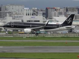Blue605Aさんが、福岡空港で撮影したスターフライヤー A320-214の航空フォト(飛行機 写真・画像)