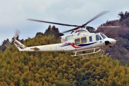 ブルーさんさんが、静岡ヘリポートで撮影した四国航空 412EPの航空フォト(飛行機 写真・画像)