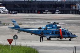 khideさんが、伊丹空港で撮影した兵庫県警察 A109E Powerの航空フォト(飛行機 写真・画像)