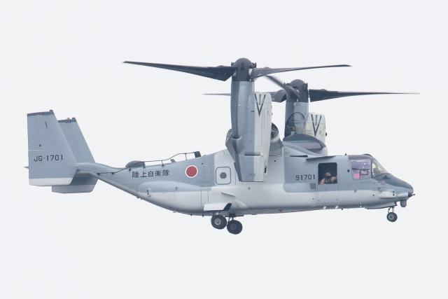 KANTO61さんが、木更津飛行場で撮影した陸上自衛隊 V-22の航空フォト(飛行機 写真・画像)