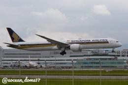アングリー J バードさんが、福岡空港で撮影したシンガポール航空 787-10の航空フォト(飛行機 写真・画像)