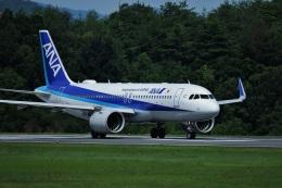 tutomuさんが、岡山空港で撮影した全日空 A320-271Nの航空フォト(飛行機 写真・画像)