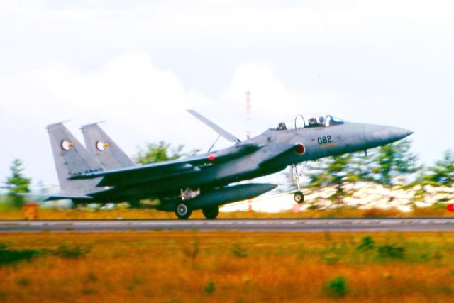 AWACSさんが、小松空港で撮影した航空自衛隊 F-15DJ Eagleの航空フォト(飛行機 写真・画像)