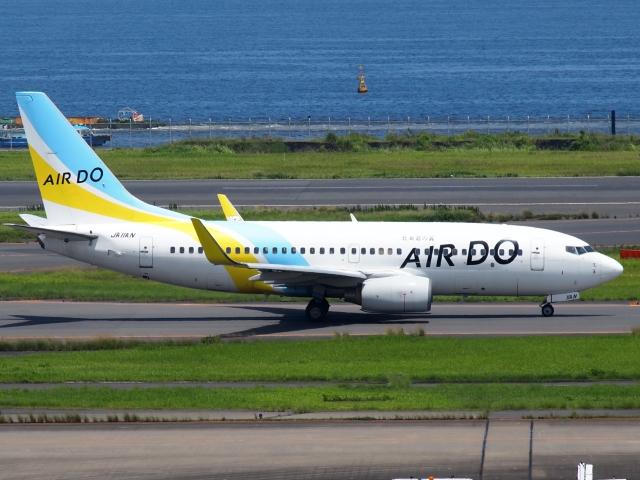 FT51ANさんが、羽田空港で撮影したAIR DO 737-781の航空フォト(飛行機 写真・画像)