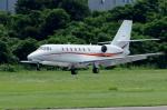 yabyanさんが、名古屋飛行場で撮影した朝日航洋 680 Citation Sovereignの航空フォト(飛行機 写真・画像)