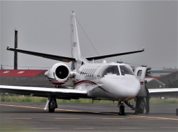 M.Ochiaiさんが、宮崎空港で撮影した読売新聞 560 Citation Encore+の航空フォト(飛行機 写真・画像)