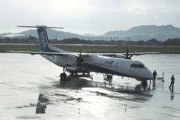 Hiro-hiroさんが、高知空港で撮影したエアーニッポンネットワーク DHC-8-402Q Dash 8の航空フォト(飛行機 写真・画像)