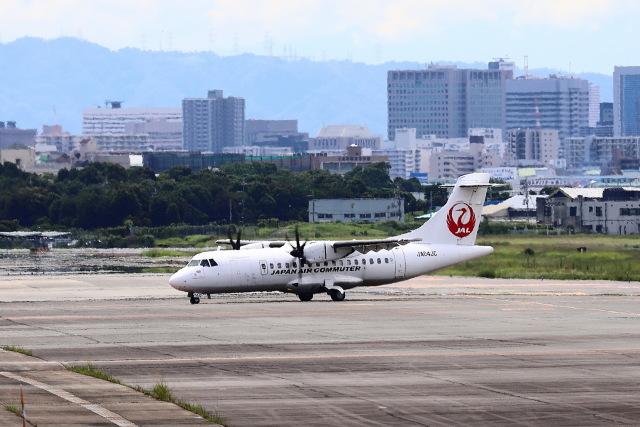 khideさんが、伊丹空港で撮影した日本エアコミューター ATR-42-600の航空フォト(飛行機 写真・画像)
