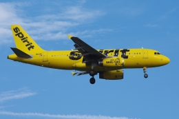 zettaishinさんが、ブラッドレー国際空港で撮影したスピリット航空 A319-132の航空フォト(飛行機 写真・画像)