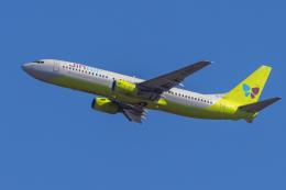 航空フォト:HL7557 ジンエアー 737-800