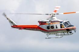 まんぼ しりうすさんが、青森県で撮影した青森県防災航空隊 412EPIの航空フォト(飛行機 写真・画像)