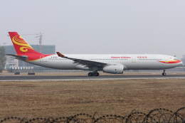 Hariboさんが、北京首都国際空港で撮影した海南航空 A330-343Xの航空フォト(飛行機 写真・画像)