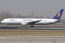 Hariboさんが、北京首都国際空港で撮影した海南航空 767-34P/ERの航空フォト(飛行機 写真・画像)
