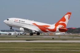 JETBIRDさんが、モントリオール・ピエール・エリオット・トルドー国際空港で撮影したエア・イヌイット 737-2Q2C/Advの航空フォト(飛行機 写真・画像)