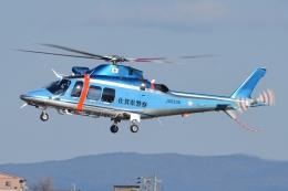 ブルーさんさんが、名古屋飛行場で撮影した佐賀県警察 AW109SPの航空フォト(飛行機 写真・画像)