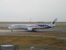 LOVE767さんが、関西国際空港で撮影したマレーシア航空 A350-941の航空フォト(飛行機 写真・画像)