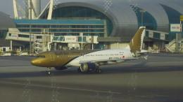 twinengineさんが、ドバイ国際空港で撮影したガルフ・エア A320-214の航空フォト(飛行機 写真・画像)