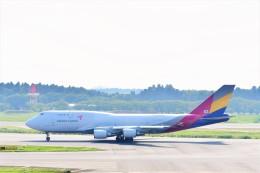 Hiro Satoさんが、成田国際空港で撮影したアシアナ航空 747-48EM(BDSF)の航空フォト(飛行機 写真・画像)