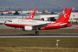 TIA spotterさんが、アタテュルク国際空港で撮影したトルコ政府 A318-112 CJ Eliteの航空フォト(飛行機 写真・画像)