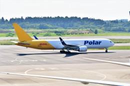 Hiro Satoさんが、成田国際空港で撮影したポーラーエアカーゴ 767-3JHF(ER)の航空フォト(飛行機 写真・画像)