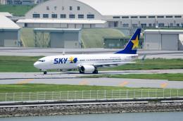 南国の防人さんが、那覇空港で撮影したスカイマーク 737-86Nの航空フォト(飛行機 写真・画像)