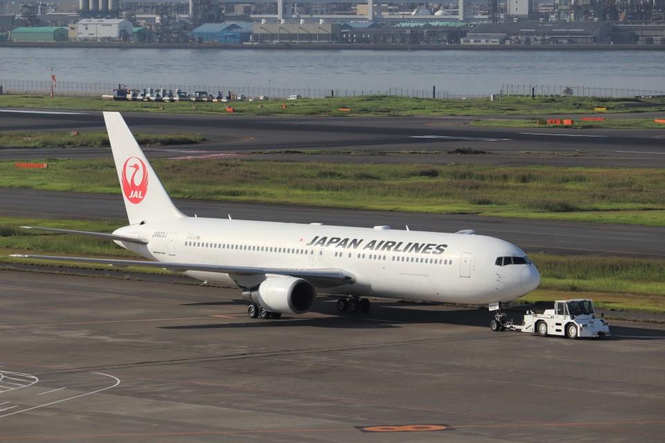 KAZFLYERさんの日本航空 Boeing 767-300 (JA623J) 航空フォト