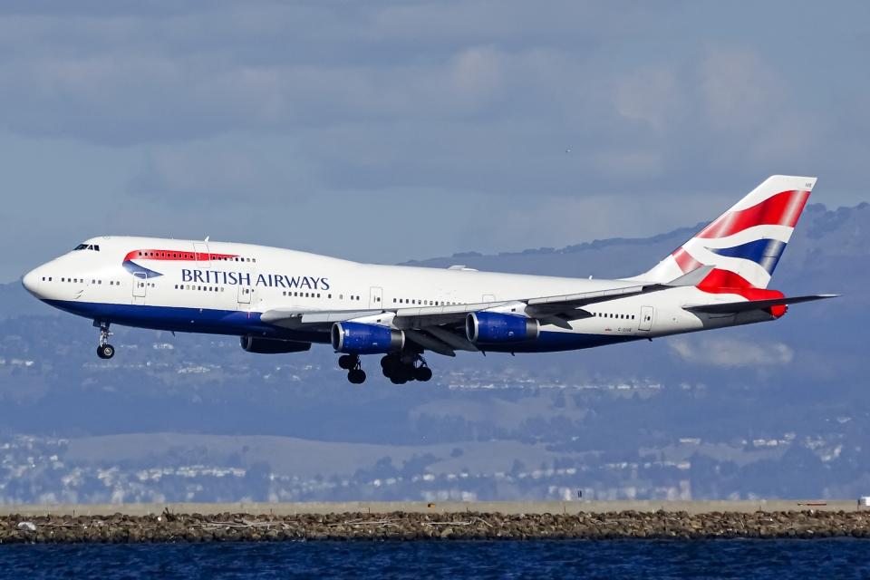 Ariesさんのブリティッシュ・エアウェイズ Boeing 747-400 (G-CIVE) 航空フォト