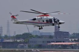 mild lifeさんが、伊丹空港で撮影した朝日新聞社 AW169の航空フォト(飛行機 写真・画像)
