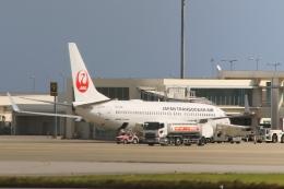 Hiro-hiroさんが、新石垣空港で撮影した日本トランスオーシャン航空 737-8Q3の航空フォト(飛行機 写真・画像)