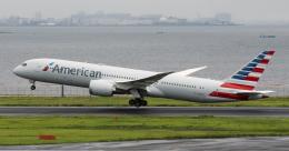 Butaさんが、羽田空港で撮影したアメリカン航空 787-9の航空フォト(飛行機 写真・画像)