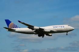 ちっとろむさんが、成田国際空港で撮影したユナイテッド航空 747-422の航空フォト(飛行機 写真・画像)