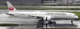 Butaさんが、羽田空港で撮影した日本航空 787-9の航空フォト(飛行機 写真・画像)