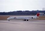 kumagorouさんが、岡山空港で撮影した日本航空 MD-81 (DC-9-81)の航空フォト(飛行機 写真・画像)