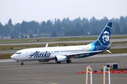 かみじょー。さんが、シアトル タコマ国際空港で撮影したアラスカ航空 737-890の航空フォト(飛行機 写真・画像)