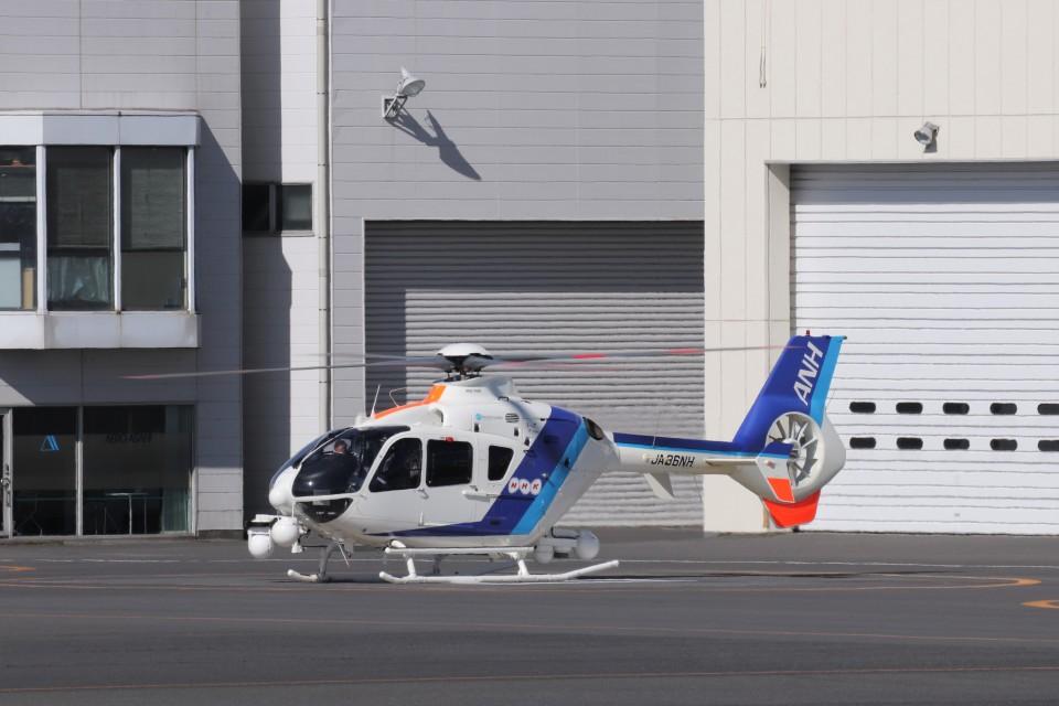 KAZFLYERさんのオールニッポンヘリコプター Eurocopter EC135/635 (JA36NH) 航空フォト
