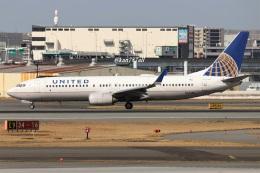 kan787allさんが、福岡空港で撮影したユナイテッド航空 737-824の航空フォト(飛行機 写真・画像)