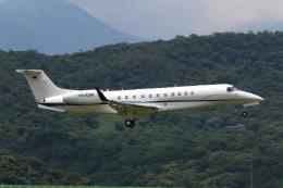 HLeeさんが、台北松山空港で撮影したベトナム企業所有 EMB-135BJ Legacyの航空フォト(飛行機 写真・画像)