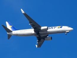 FT51ANさんが、羽田空港で撮影したスカイマーク 737-8HXの航空フォト(飛行機 写真・画像)