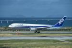 turenoアカクロさんが、那覇空港で撮影した全日空 767-381/ERの航空フォト(飛行機 写真・画像)